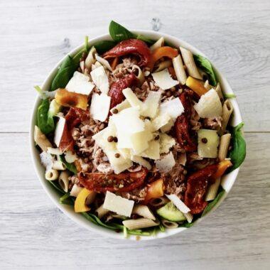 pastasalade met tonijn recept afvallen almere