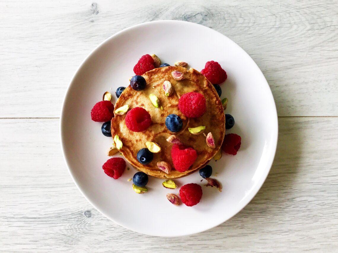 Pannenkoeken gezond recept volkoren afvallen almere