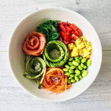 gezonde caloriearme skinny kwarktaart met framboos gezond recept afvallen almere
