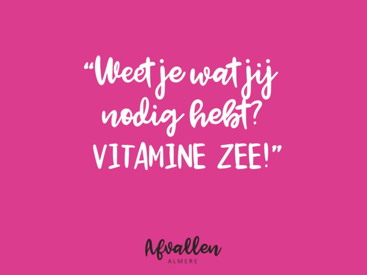 vitamine zee instagram eten dieet afvallen almere quote