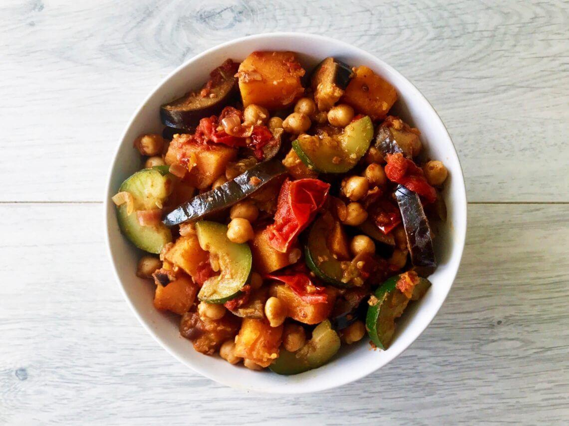 marokkaanse groentestoof met kikkererwten afvallen almere gezond recept