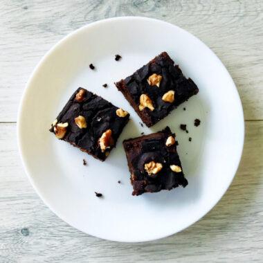 gezonde glutenvrije suikervrije zwarte bonen bromnies afvallen almere recept
