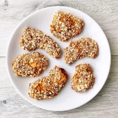 gezond recept healthy kip borrelhapje kipnuggets havermout afvallen almere