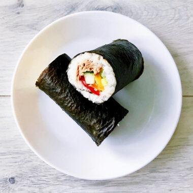 Sushi Burrito Sushirrito gezond recept afvallen almere