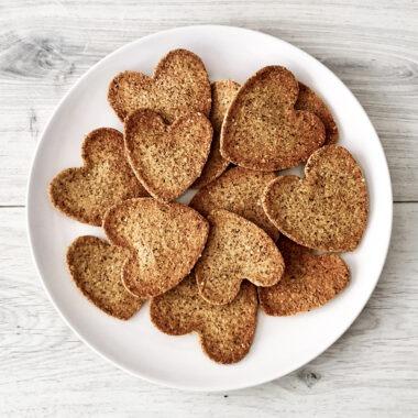 gezonde havermout crackers lijnzaad bakken recept afvallen almere vegan plantaardig vegetarisch