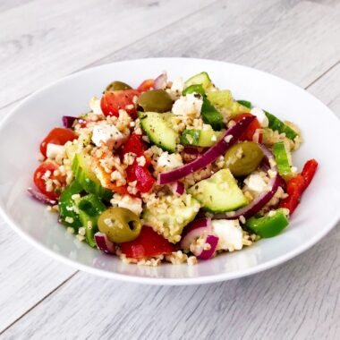gezonde Griekse Bulgur salade afvallen almere recept