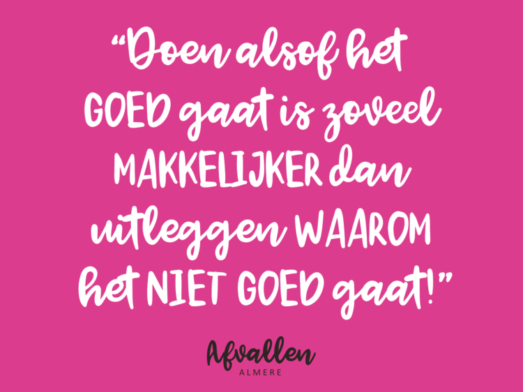burn-out afvallen almere quote