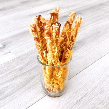 Gezonde Kaasstengels gezond recept kaas snack tussendoortje afvallen almere