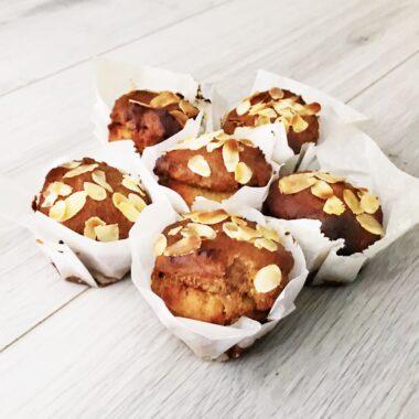 gevuld speculaas muffin sinterklaas gezond recept afvallen tussendoortje snack sint
